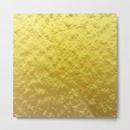 Gold optic Metal Print