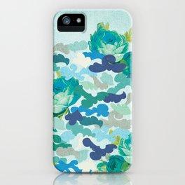 Camoflauge Roses iPhone Case