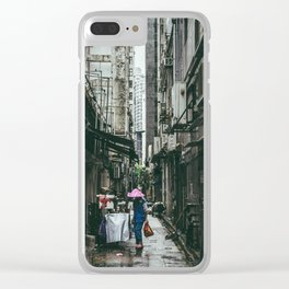 HONG KONG III Clear iPhone Case