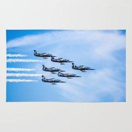 Breitling Jets In Formation Rug
