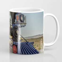 Central Pacific Railroad Jupiter at Golden Spike National Historic Site Utah Transcontinental Coffee Mug