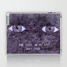 Stars in my eyes. Laptop & iPad Skin