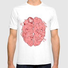 Thought Process MEDIUM Mens Fitted Tee White