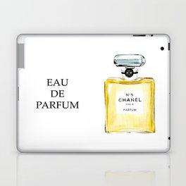 Yellow Perfume Laptop & iPad Skin