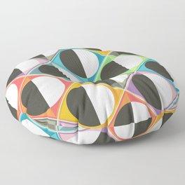 eclipse diamonds Floor Pillow