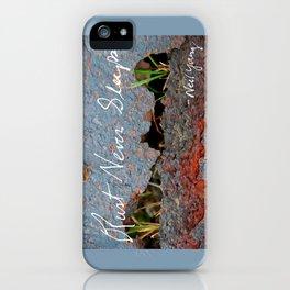 Rust Never Sleeps iPhone Case