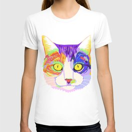 art cat T-shirt