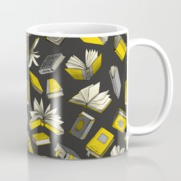 Spellbooks, Yellow Coffee Mug