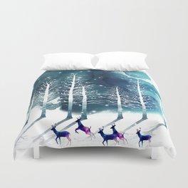 Winter Night 2 Duvet Cover