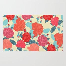 Rose Garden - Light Rug