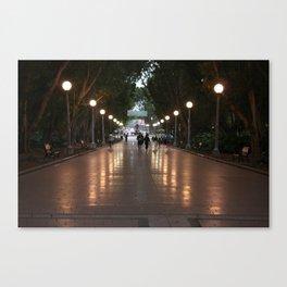 melbourne luna park Canvas Print