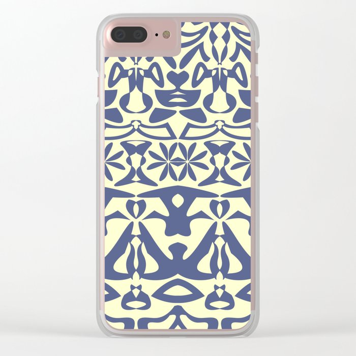 Pattern #41 Clear iPhone Case