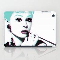 hepburn iPad Cases featuring AUDREY HEPBURN by Nuk_