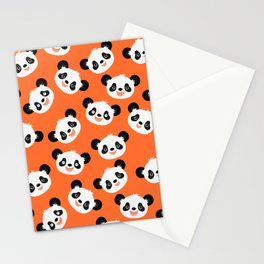 Happy Pandas Stationery Cards