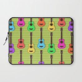 Fun colorful Ukuele Pattern Laptop Sleeve