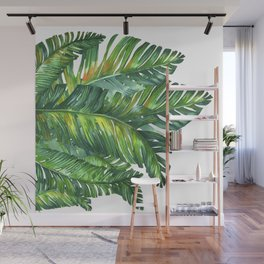tropical green 2 Wall Mural
