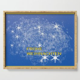 Concept Christmas : Frohe Weihnachten Serving Tray