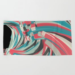 Chaos And Order Beach Towel