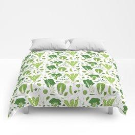 Go Green! Leafy Green! Comforters