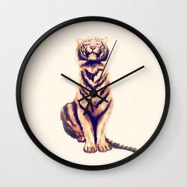 Zen Tiger  Wall Clock