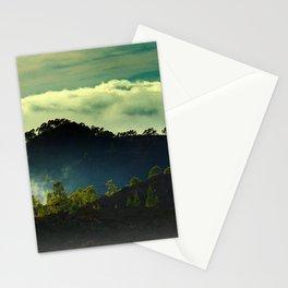 volcano island Stationery Cards