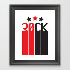 30CK - ROCK Framed Art Print