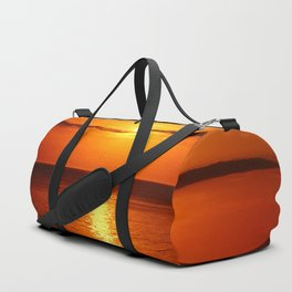 A  Beautiful Day´s End Duffle Bag