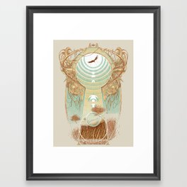 Unlocking Horizons Framed Art Print