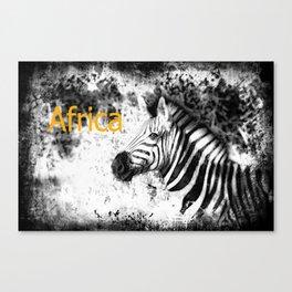 Africa II Canvas Print