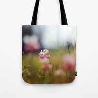 clover Tote Bags featuring Clover by elle moss