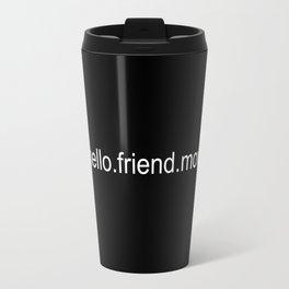 Hello.Friend Travel Mug
