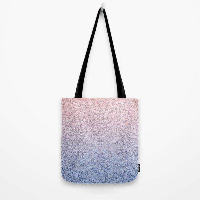 Delicate Pattern Tote Bag