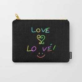 LOVE... Lo vé! Carry-All Pouch