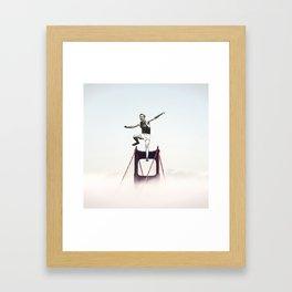 SF Athlete Framed Art Print