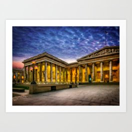 The British Museum Art Print
