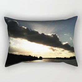 God-rays Rectangular Pillow