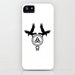 Norse Ravens - Celtic Knot iPhone Case