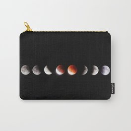 The Phases of the Moon (Color) Carry-All Pouch