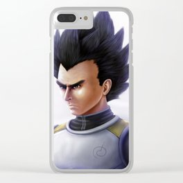 Prince Saiyan Clear iPhone Case