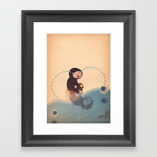 la crime Framed Art Print