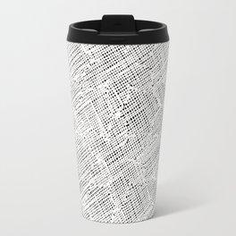Ink Weaves: White Alabaster Travel Mug