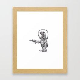 Komodo Spaceman Framed Art Print