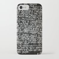 calligraphy iPhone & iPod Cases featuring calligraphy by nihal ekinci