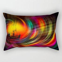 Time Tunnel 3 Rectangular Pillow
