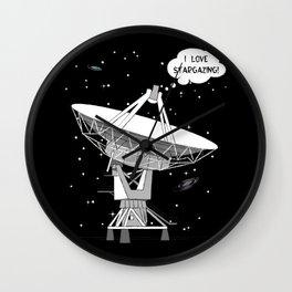 I love stargazing! Wall Clock