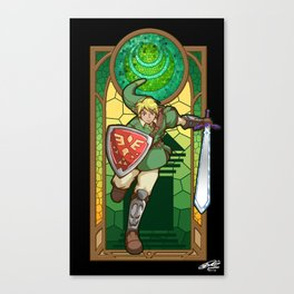 Link Hero Of Courage Canvas Print