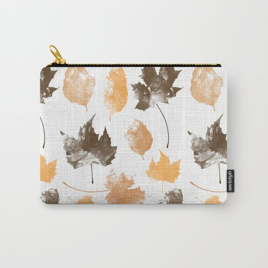 autumn, leaves, Carry-All Pouch