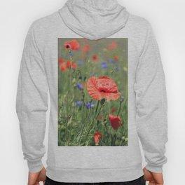 poppy flower no16 Hoody