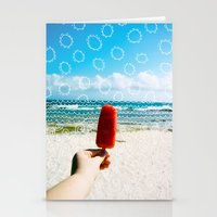 popsicle Stationery Cards featuring Popsicle  by Caroline Fahey