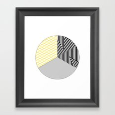 Geometric Circle #2 Framed Art Print